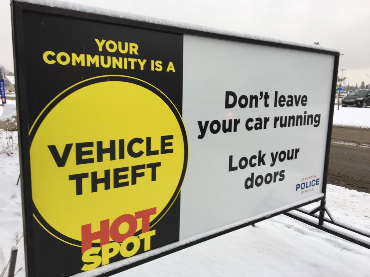 "Edmonton police have launched a campaign aiming to raise awareness of car thefts in ""hot spot"" neighbourhoods."
