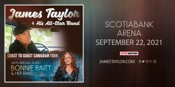 Continue reading: James Taylor with Special Guest Bonnie Raitt **RESCHEDULED**