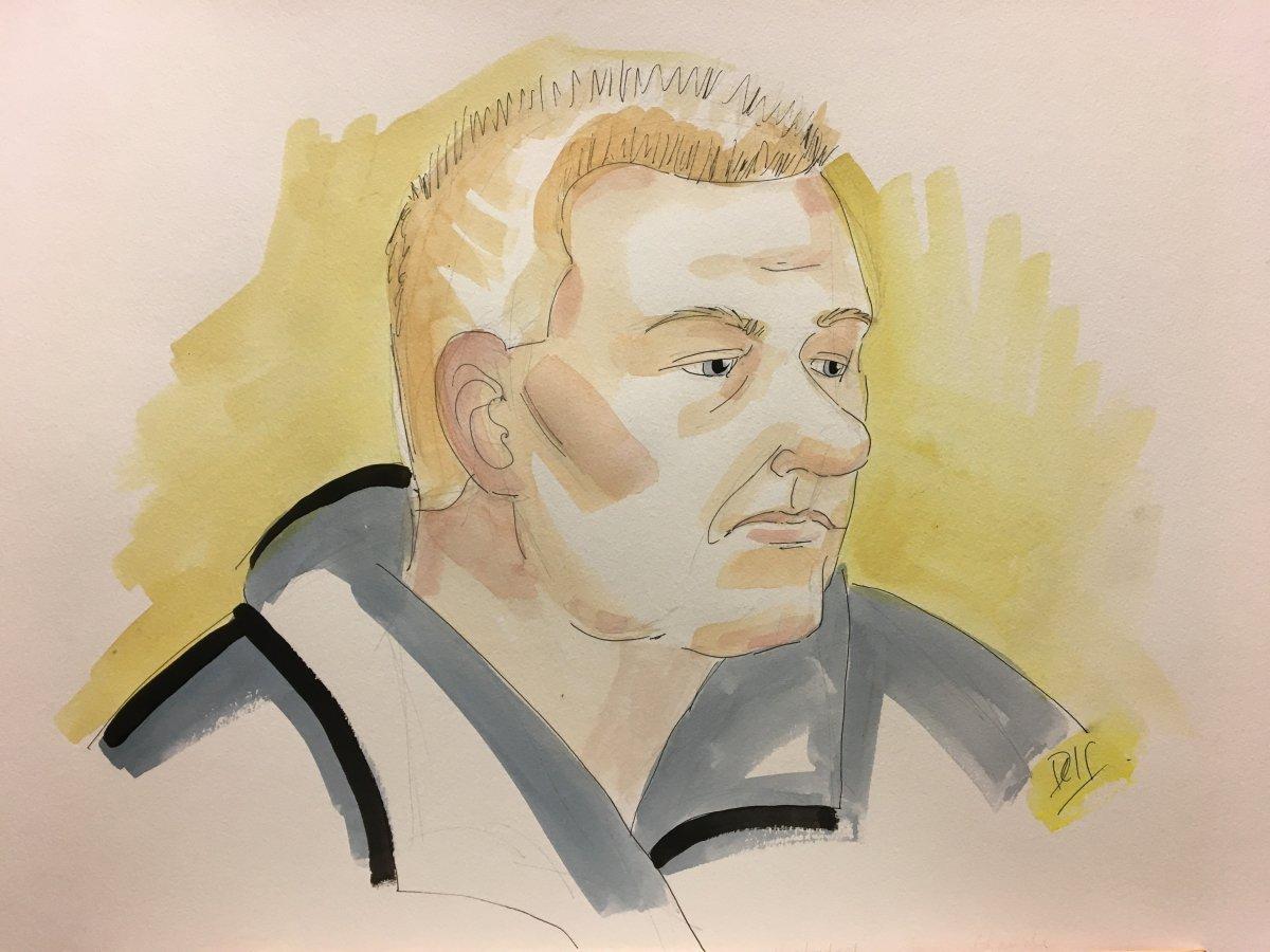 Sketch of Jean-Claude Rochefort.