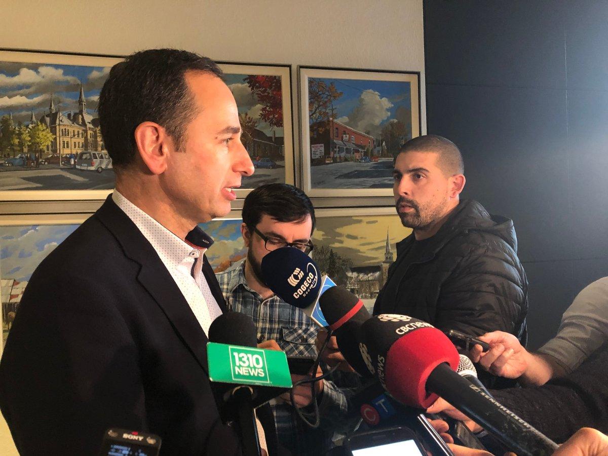 OC Transpo general manager John Manconi speaks to reporters at Ottawa City Hall on Tuesday, Dec. 3, 2019.