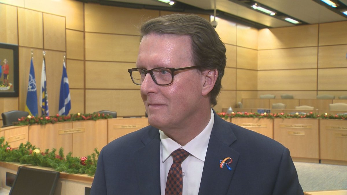 Regina Mayor Michael Fougere made a motion at a special council meeting Tuesday to fast-track the city's lead pipe replacement program.