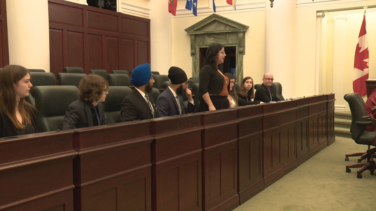 Students took over the roles of parliament at the TUXIS program on Saturday, Dec. 28. 2019.