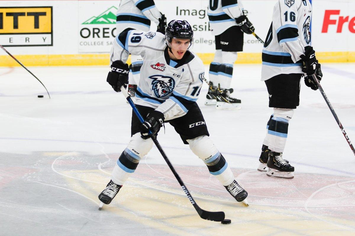 Winnipeg ICE Captain Peyton Krebs. Photo Credit- Keith Dwiggins.
