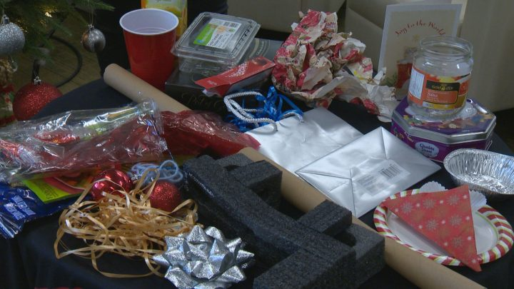 The City of Calgary is suggesting tips to go green and reduce waste this Christmas.