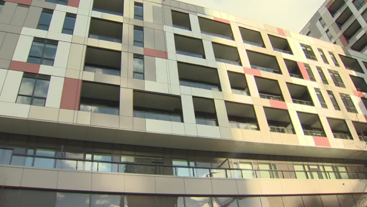 Mayor John Tory says the building's design makes it indistinguishable from market-rate apartment and condo buildings.