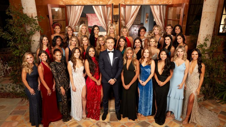 The cast of 'The Bachelor' Season 24.