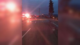 Continue reading: UPDATED: Highway 97 in Lake Country reopens after car slams into power lines