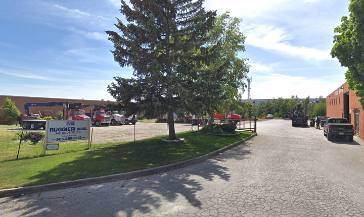 Ruggieri Brothers is seen in a screenshot from Google Street View.