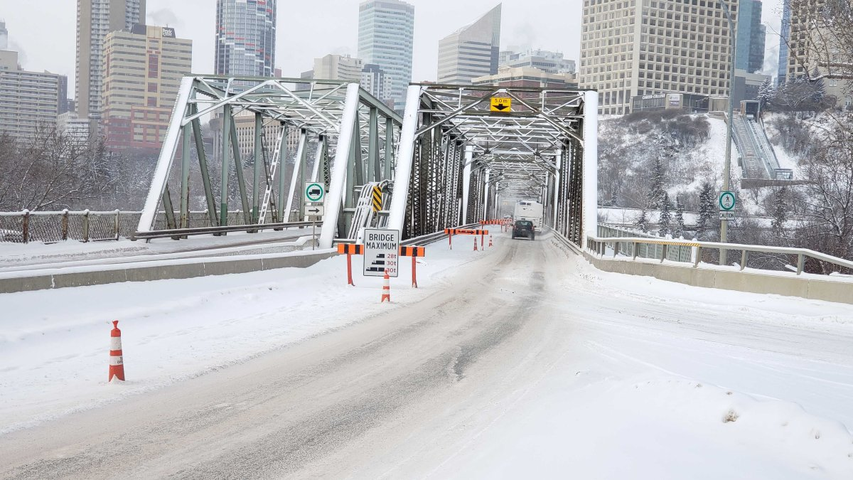 The Low Level Bridge on Jan. 16, 2020.