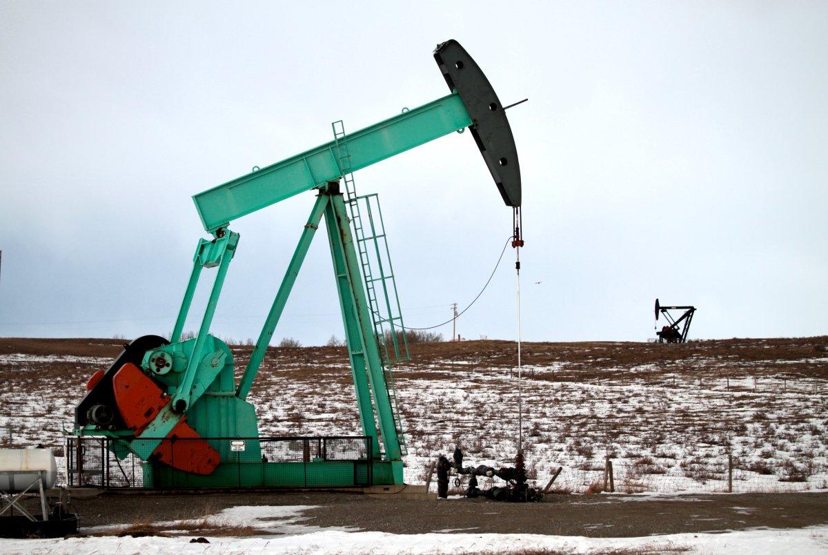 An oil pump jack in Longview, Alta. taken on Jan. 29, 2020.