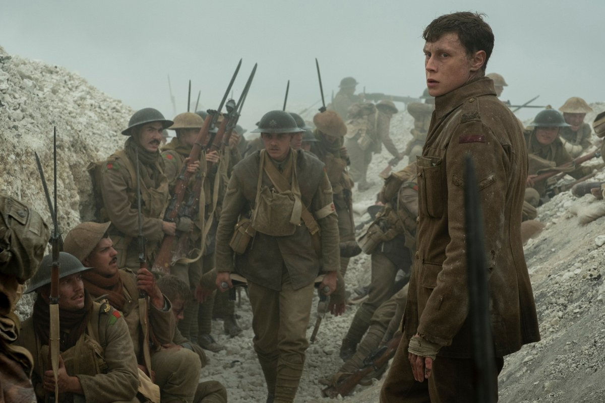 The film '1917' is in theatres now.