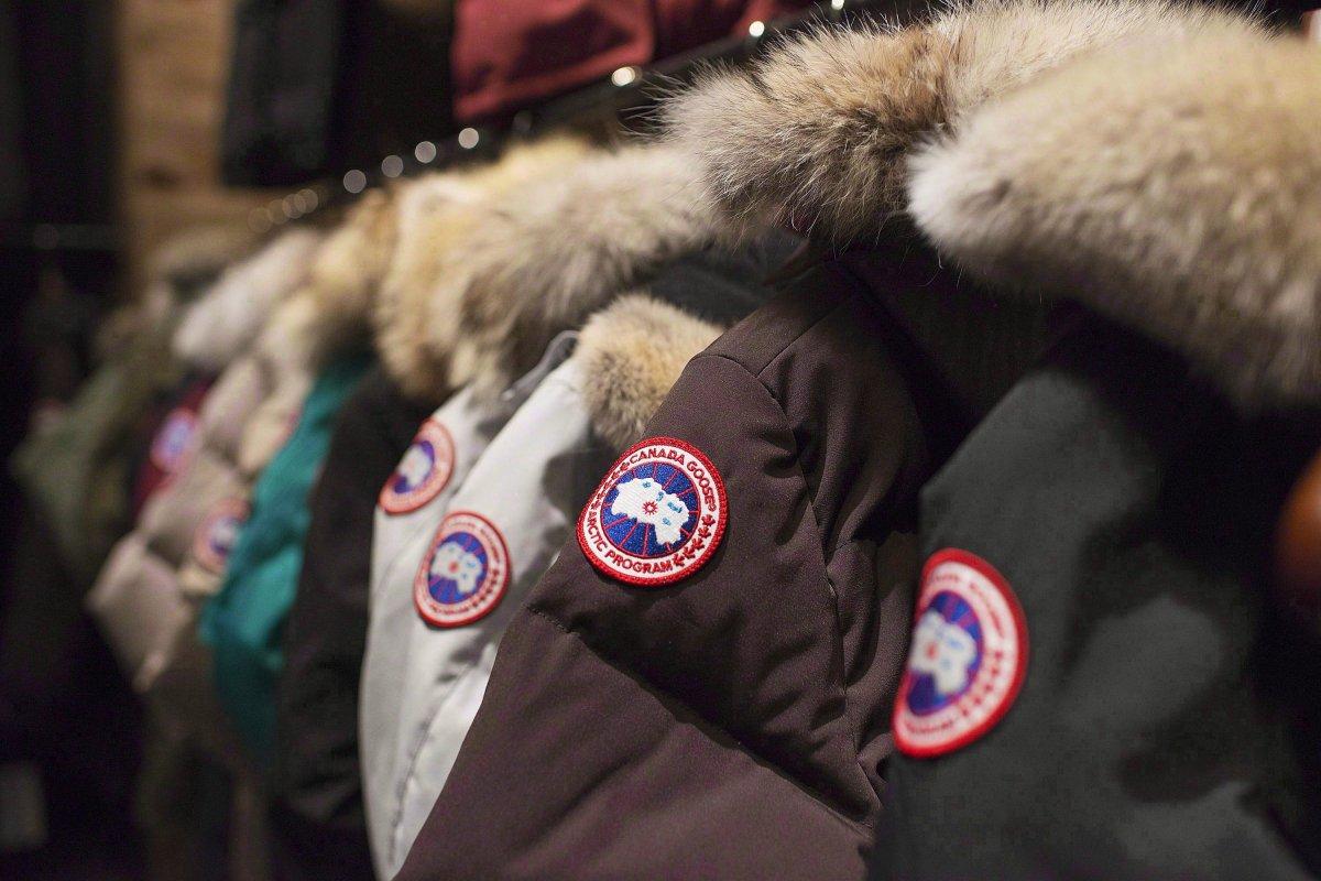 Canada Goose jackets.