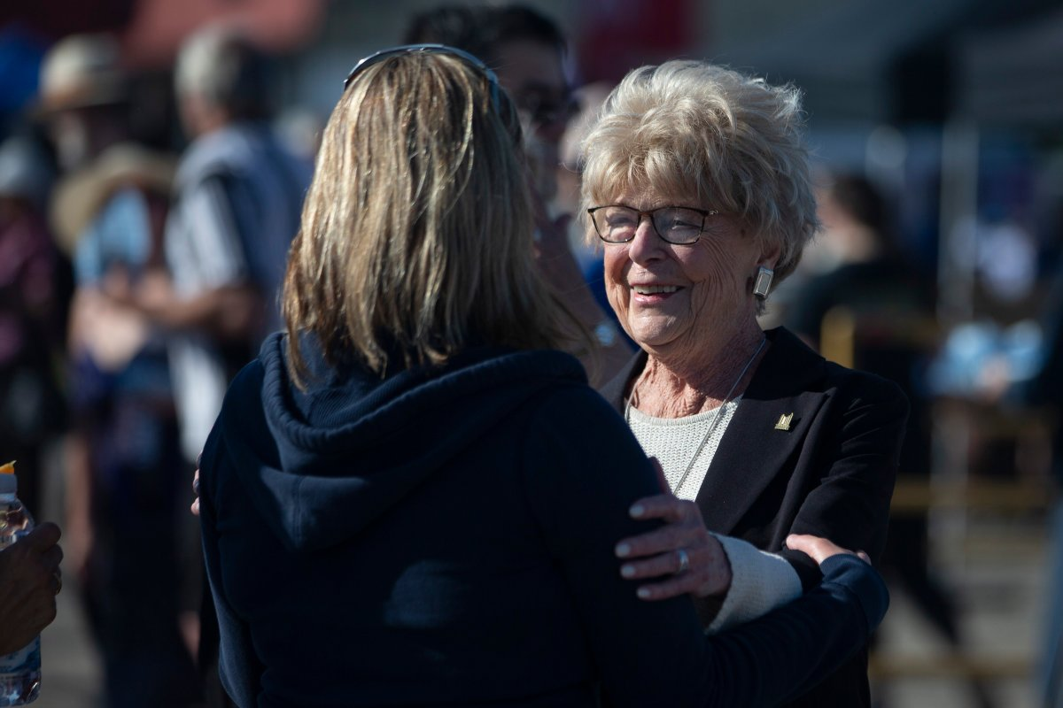 Ontario Premier Doug Ford's mother Diane Ford attends Ford Fest in Markham, Ont., on Saturday, June 22, 2019.