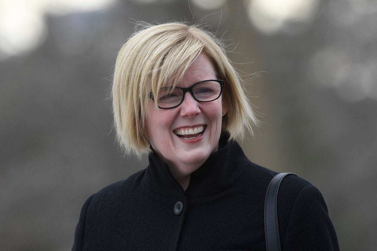 Liberal MP Carla Qualtrough arrives for the cabinet swearing-in ceremony in Ottawa on Wednesday, Nov. 20, 2019.