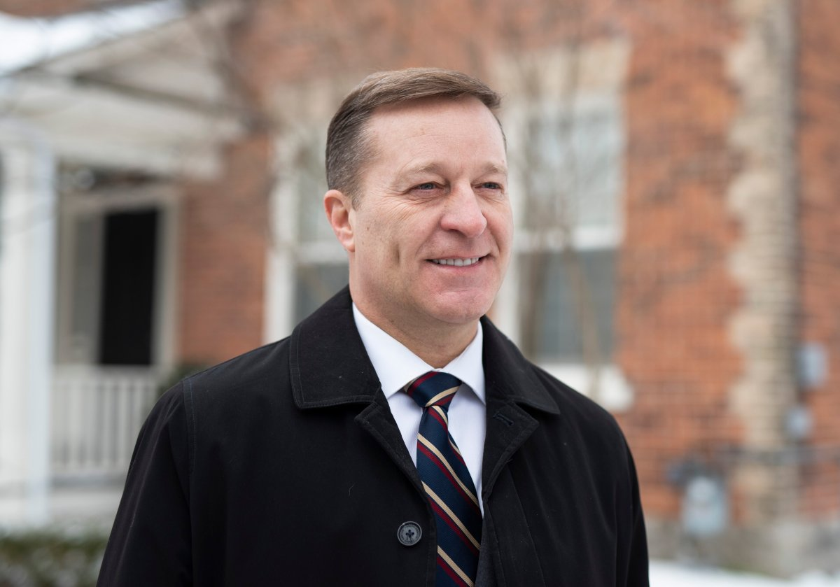 Bryan Brulotte, who is entering the leadership race for the Conservative Party of Canada, is shown in Ottawa, on Sunday, Jan. 5, 2020. THE CANADIAN PRESS/Justin Tang.