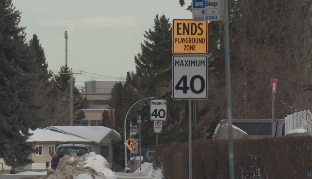Maximum 40 km/h signs will be the new norm on some Edmonton streets as council considers lowering speed limits.