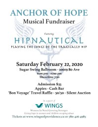 Continue reading: Anchor of Hope Musical Fundraiser