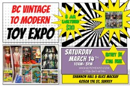 Continue reading: BC VINTAGE TO MODERN TOY EXPO