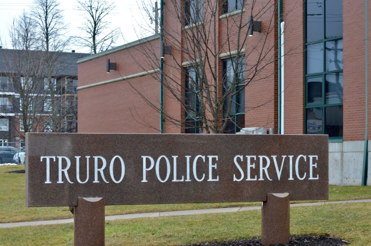 The Truro Police station on Jan. 1, 2020.