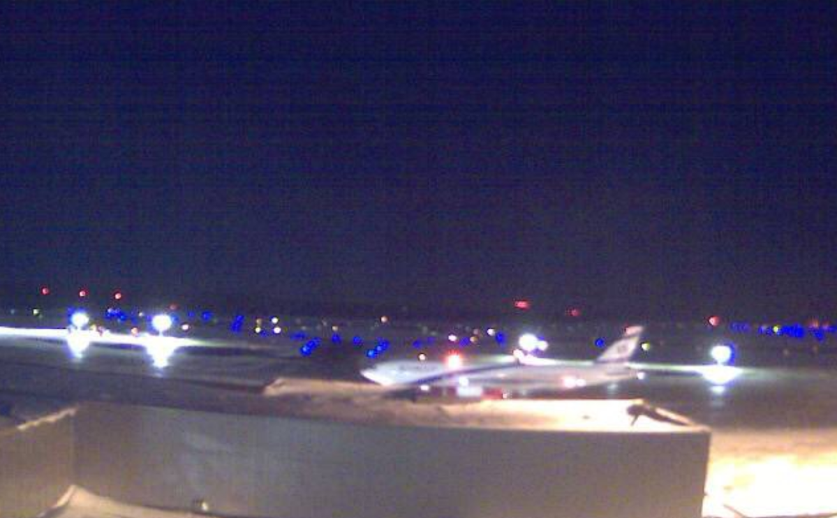 The Boeing 777 was scheduled to arrive in Tel Aviv, Israel just before 4 a.m. local time.