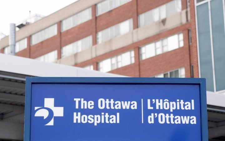 The Ottawa Hospital is building more bed capacity in a parking lot at its Civic Campus.