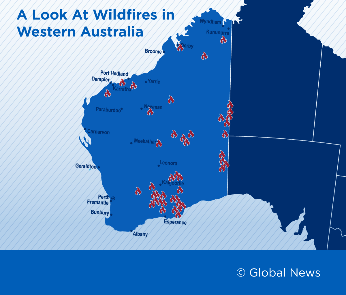 Map Here S Where Australia S Wildfires Are Currently Burning National Globalnews Ca