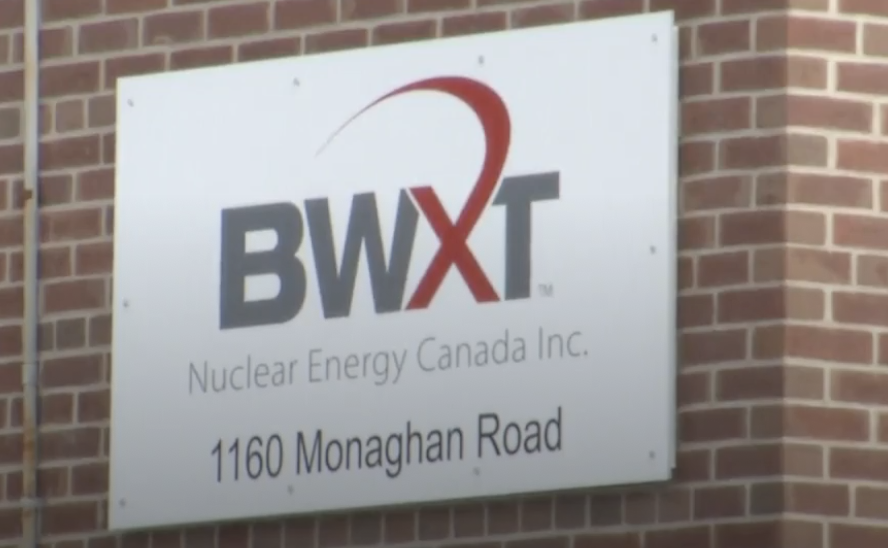 Soil resamples have been ordered around properties near the BWXT Peterborough facility.