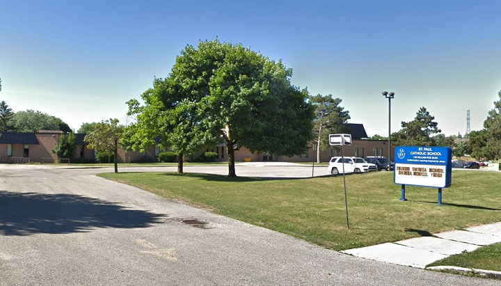 File photo of St. Paul Catholic Elementary School in Newmarket.
