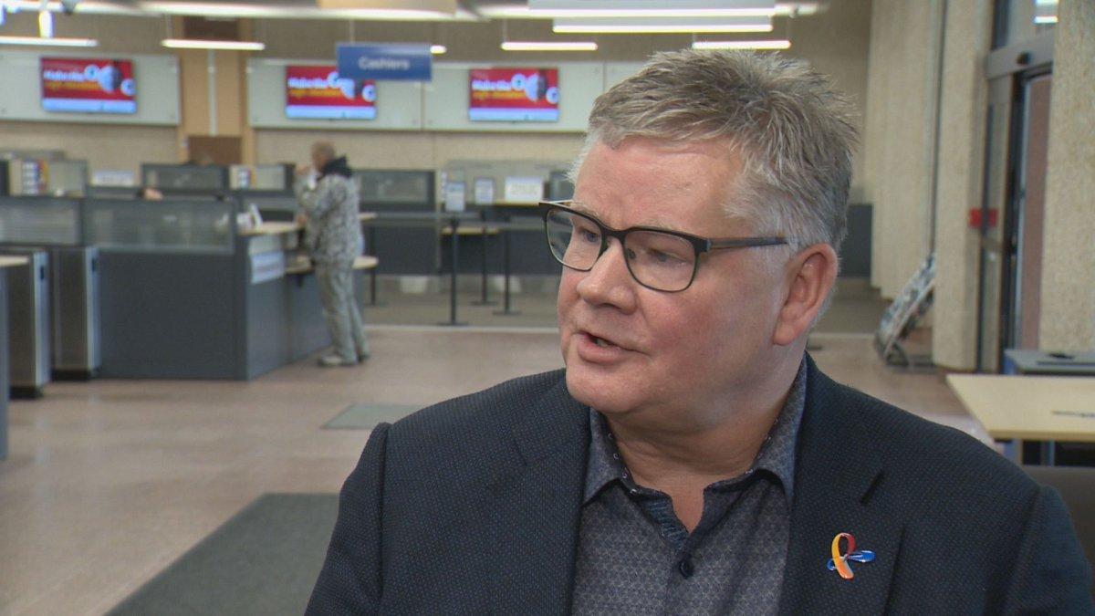 Regina City Manager Chris Holden speaks Monday about updating internal policies.