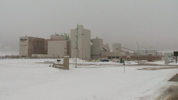 Mosaic announced it is indefinitely shutting down production at its Colonsay potash mine after it was temporarily closed in August.