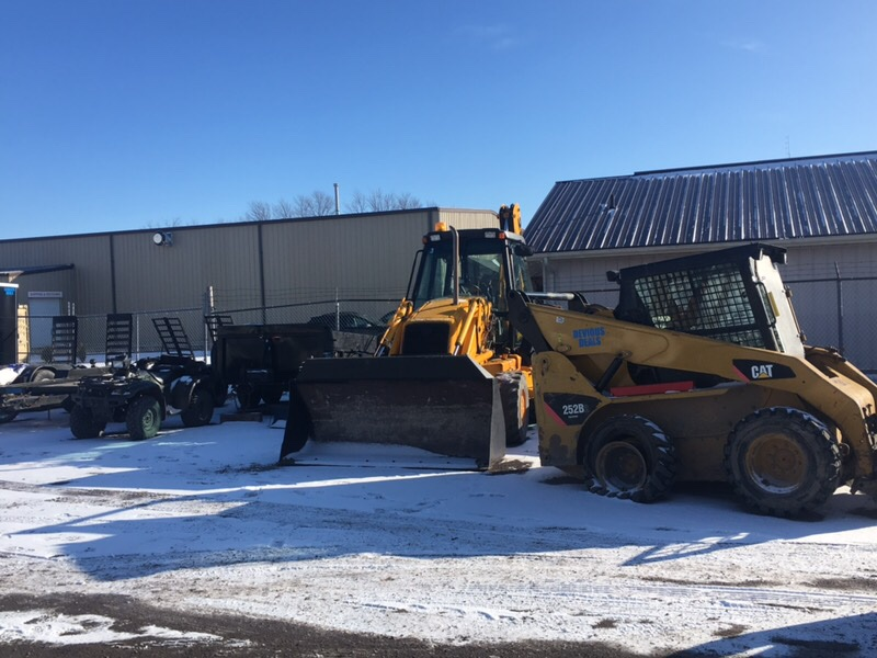 A Kingston man is facing charges after Lennox and Addington OPP seized over $600,000 worth of construction equipment.
