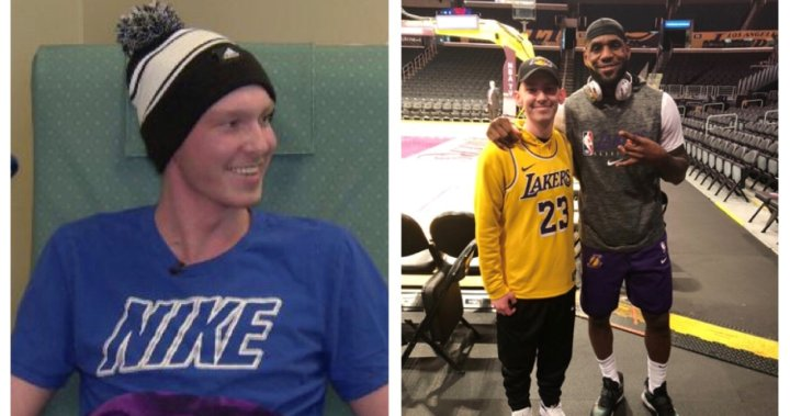 'We joked about his height': Brampton teen with cancer talks about getting dying wish to meet LeBron