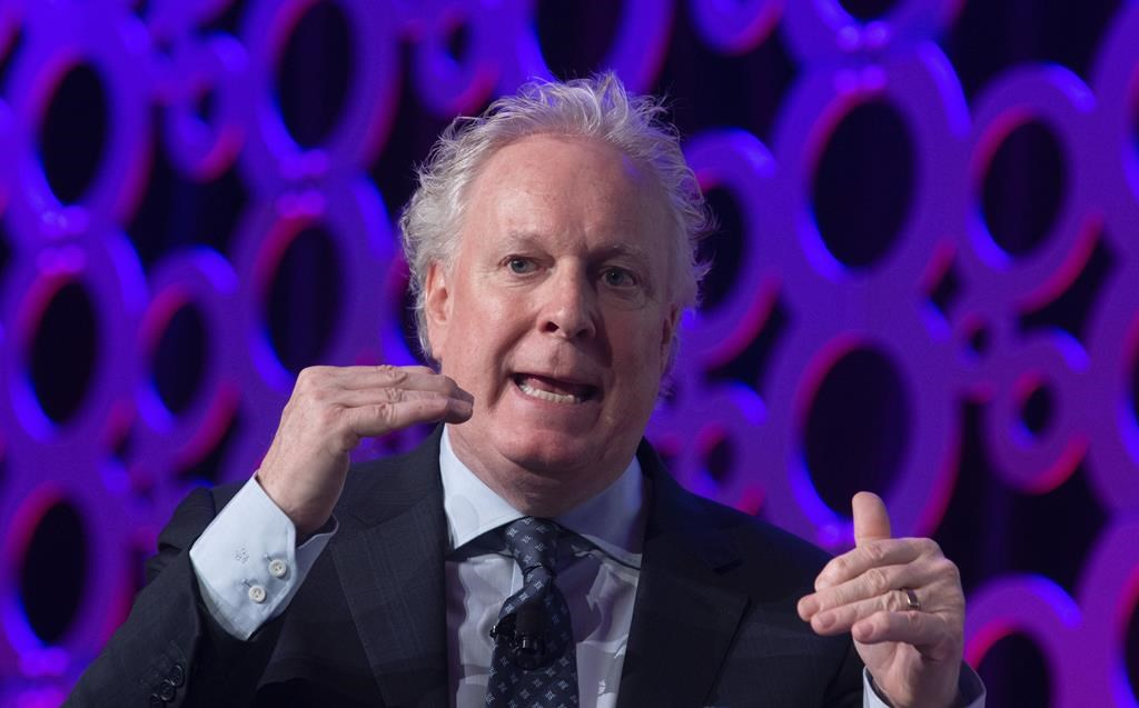 "Charest said the Canadian aerospace industry could ""help Canada overcome the huge deficits to come"" and that the sector should therefore be given priority for government aid."