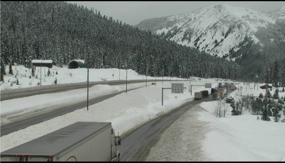 The Coquihalla will be closed between Hope and Merritt for avalanche work on Wednesday.