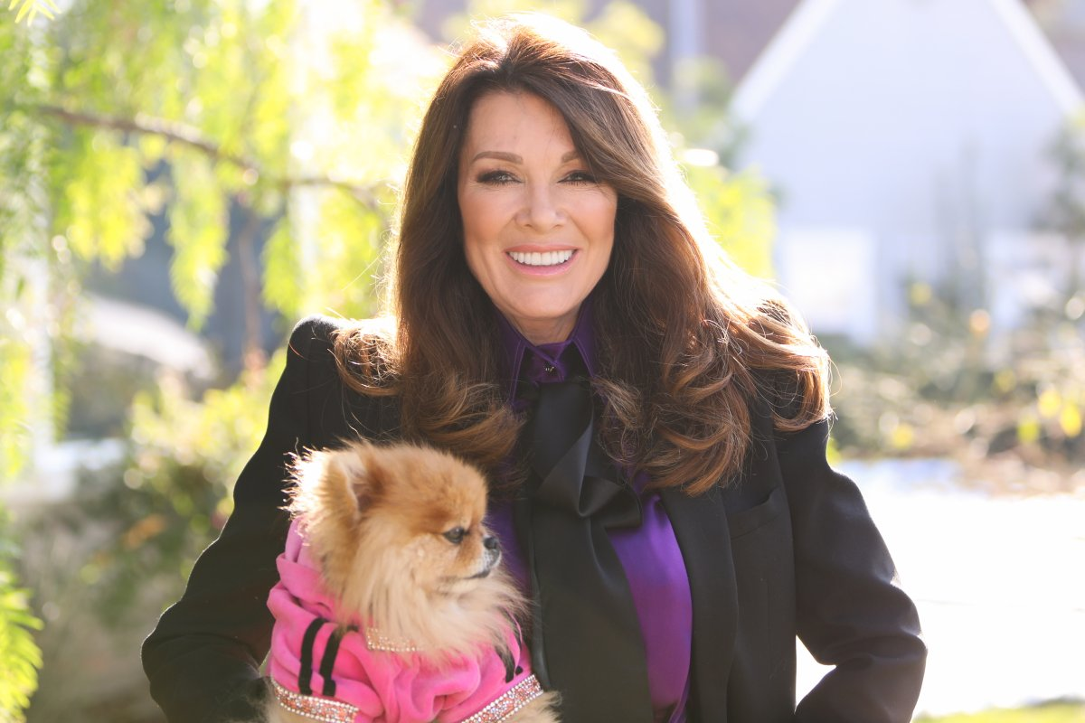 Reality TV Personality Lisa Vanderpump visits Hallmark Channel's 'Home & Family' at Universal Studios Hollywood on January 14, 2020 in Universal City, California.