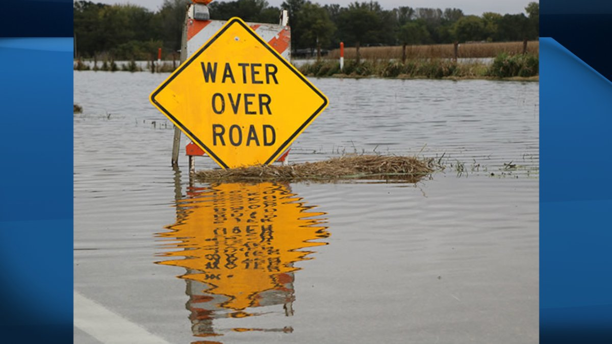 Both Brant and Haldimand counties have flood warnings in effect around the Grand River.