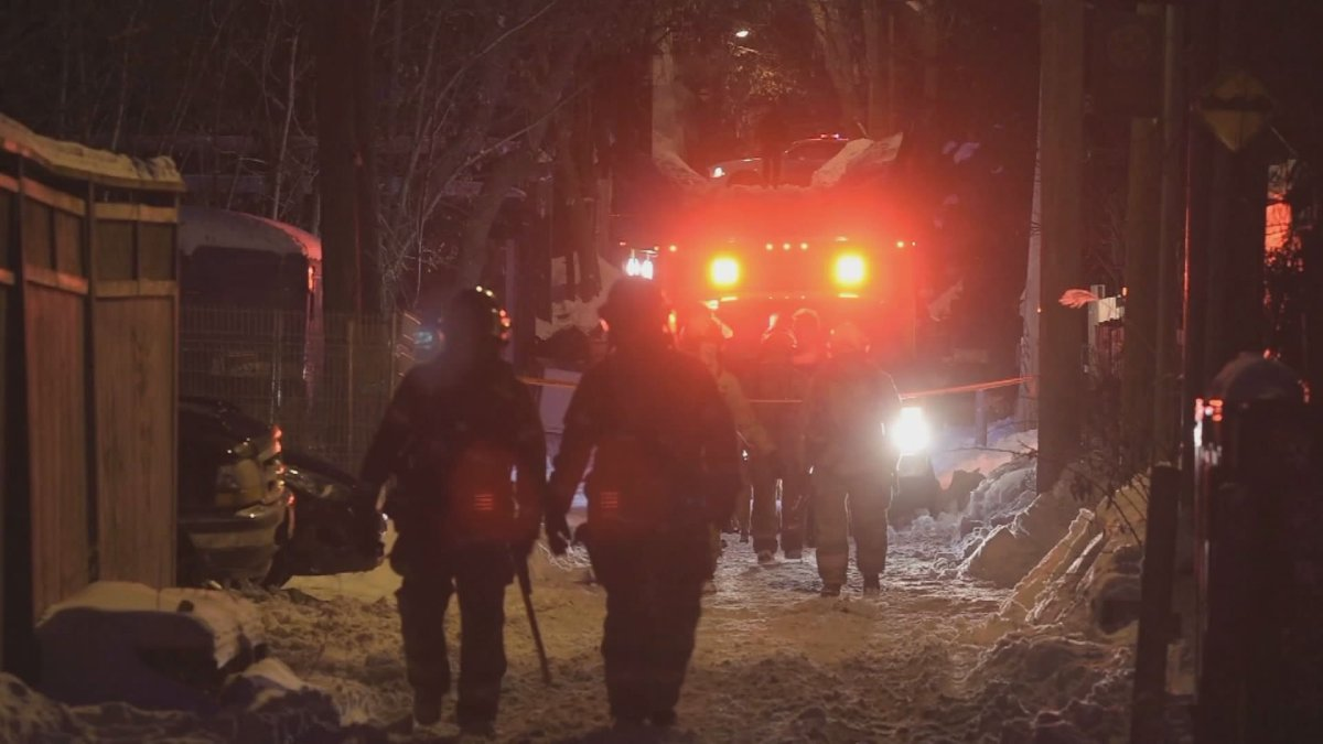 Police say an investigation into the blaze has been transferred to the Montreal police arson squad.