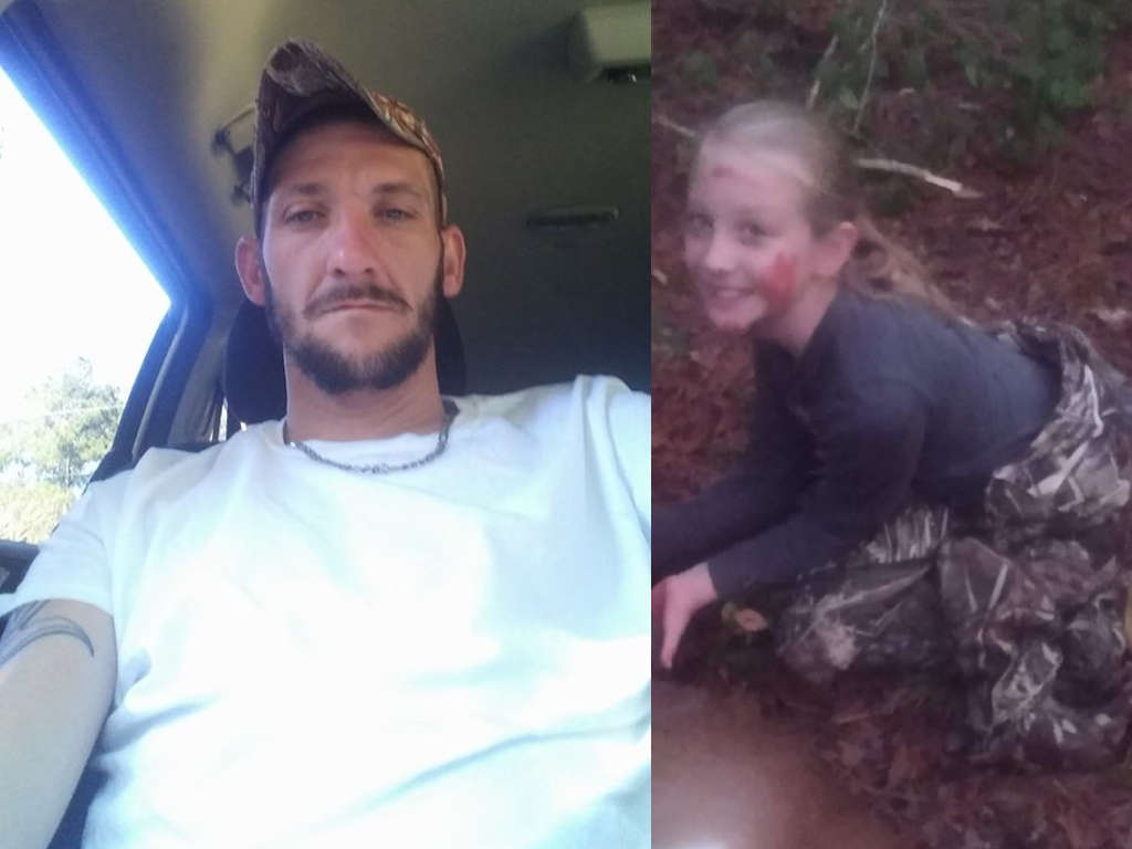 Kim Drawdy, 30, and daughter Lauren, 9, were killed while hunting after being mistaken for deer.