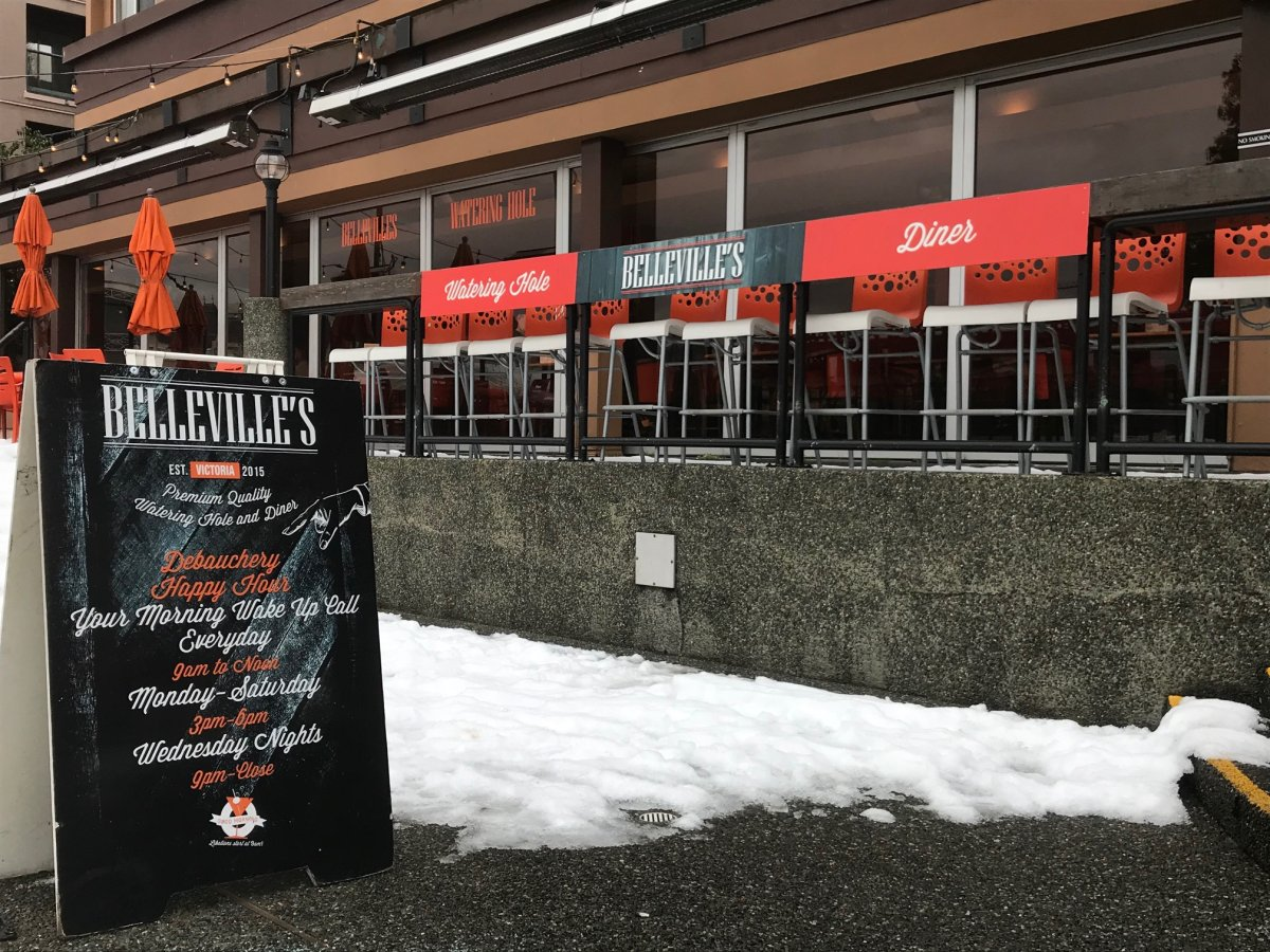 Belleville's Watering Hole and Diner is charging a 1 per cent fee to cover costs of Employers Health Tax.