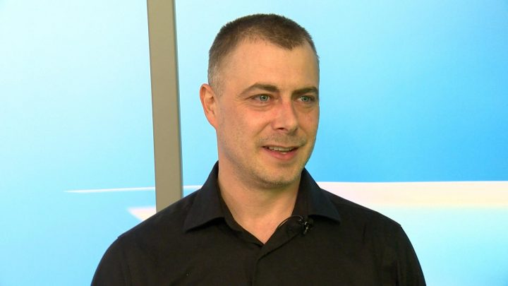 Jason Friesen was the first mayoral candidate for the next Saskatoon municipal election.