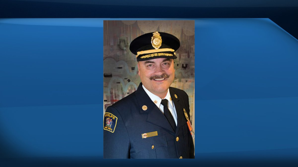Guelph fire Chief John Osborne is retiring at the end of February.