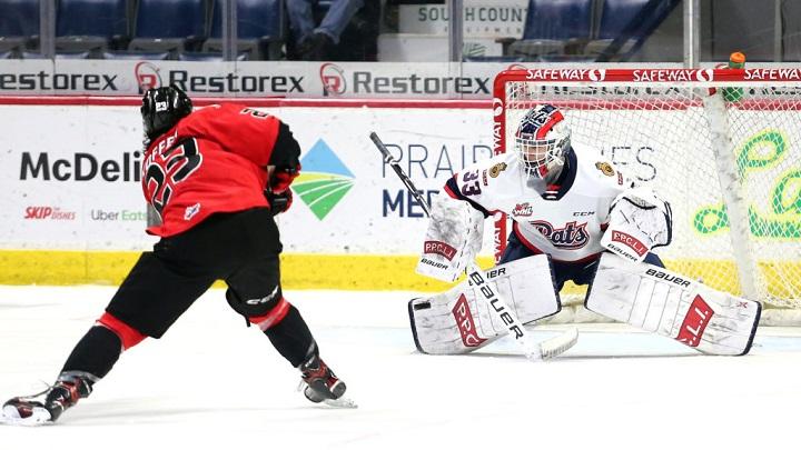 The Regina Pats traded away goaltender Max Paddock to the Prince Albert Raiders for Jakob Brook and draft picks.