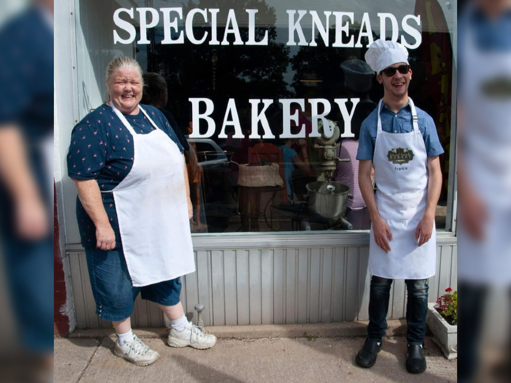 Margaret Cortes opened Special Kneads Bakery in 2018 to make sure her son with cerebral palsy would have a job.