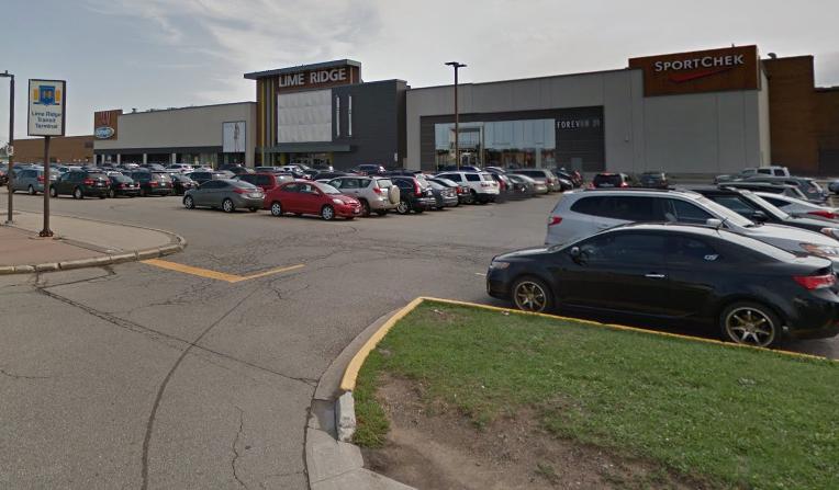 limeridge-mall-parking-lot