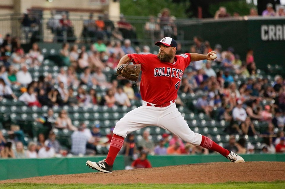 Goldeyes' future in Winnipeg on the line over new lease deal with city, says Sam Katz - image