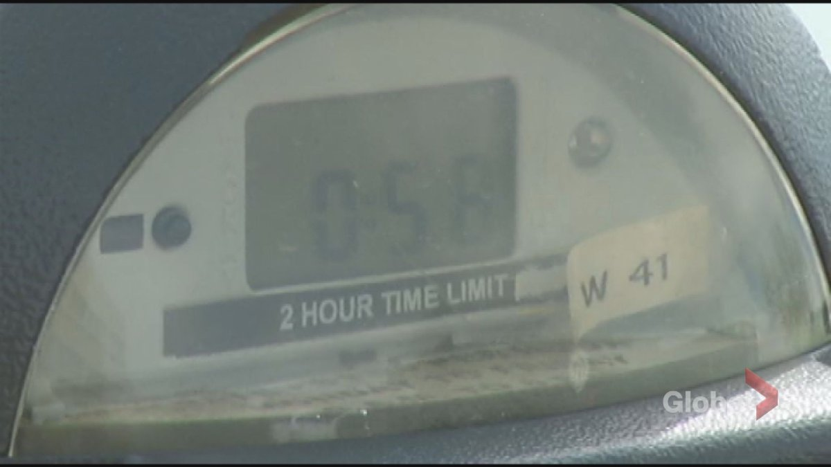 A Peterborough man is accused of mischief involving a parking meter.