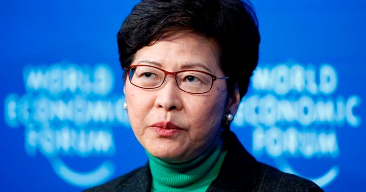 Hong Kong leader says Chinese security law has been 'effective in restoring stability'