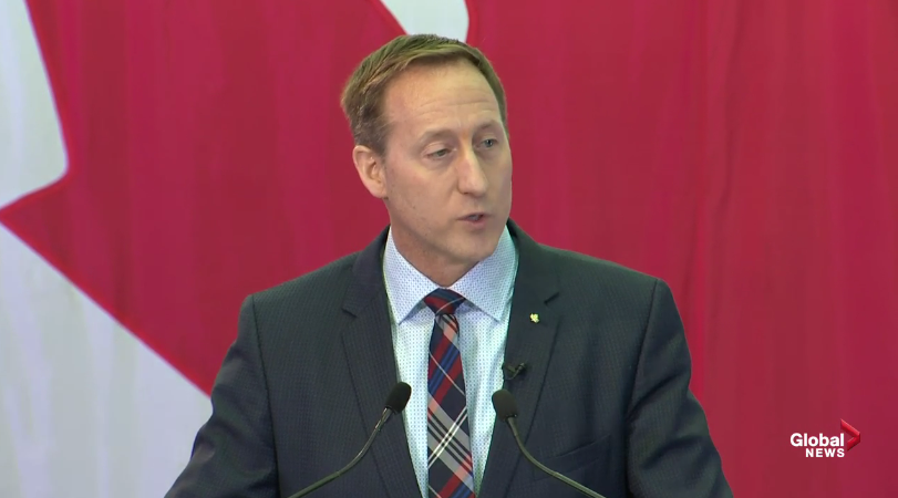 Former federal cabinet minister Peter MacKay announced on Jan. 25, 2020 his candidacy for the leadership of the federal Conservative party.