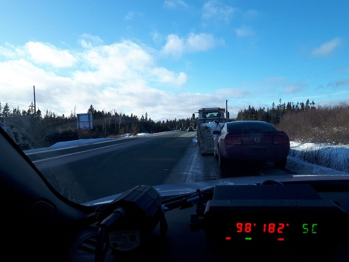 N.L. RCMP have seized a 17-year-old's novice driver's licence after they clocked a vehicle travelling at more than 180 km/h.