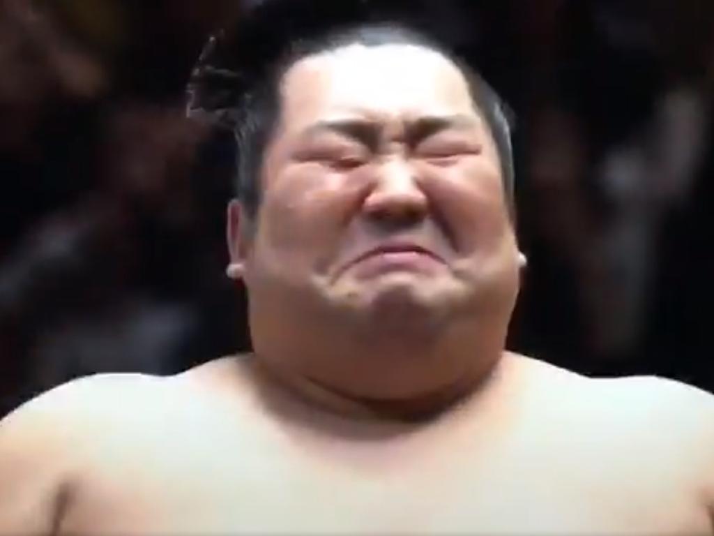 Tokushoruy, a sumo wrestling underdog, beat champion Takakeisho and immediately burst into tears.